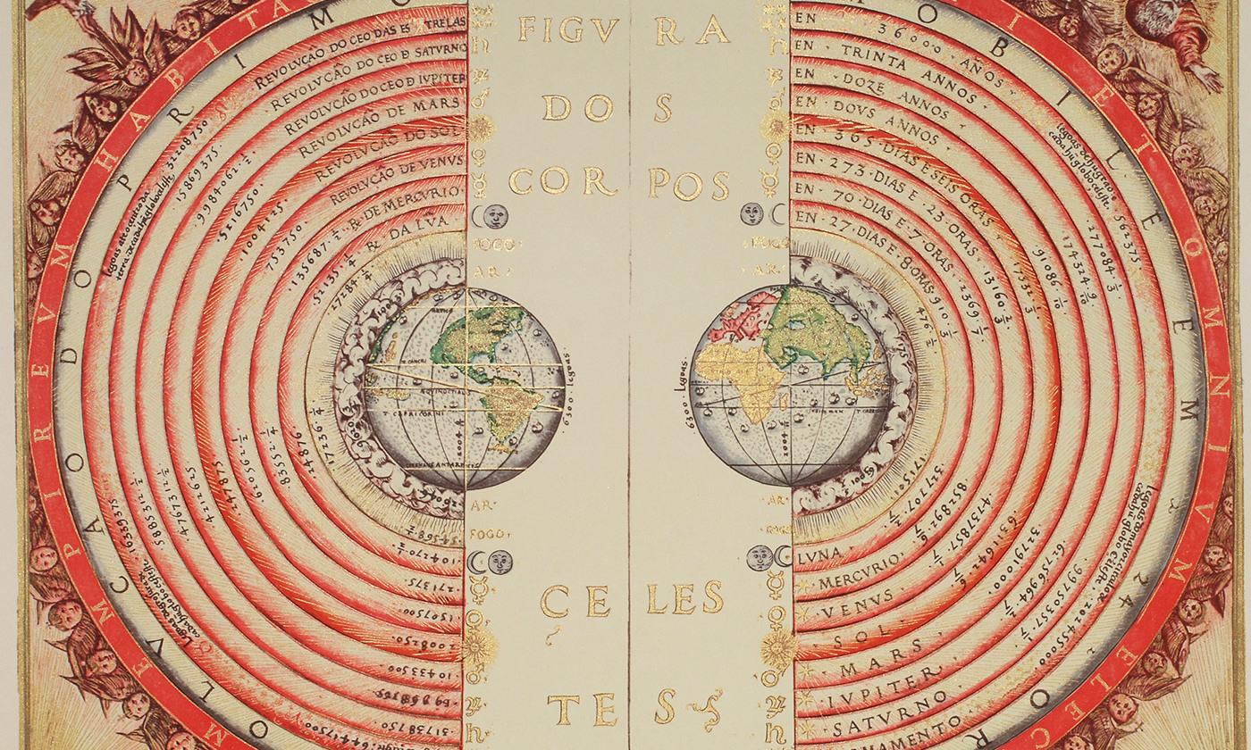 The Ptolemaic Geocentric system. <em>Photo courtesy Wikimedia</em>