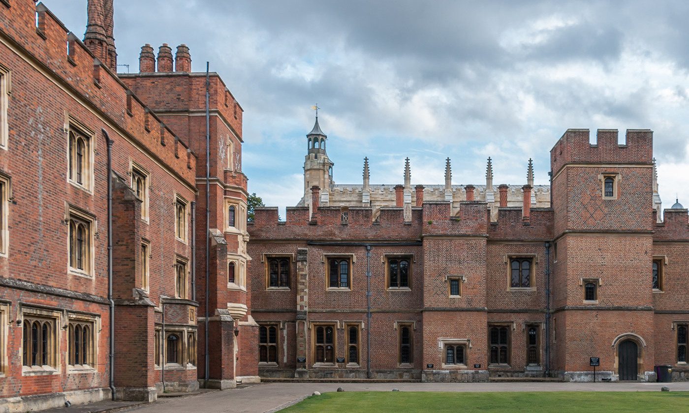 <p>A view of Eton College, Berkshire, United Kingdom. <em>Photo courtesy Wikipedia</em></p>