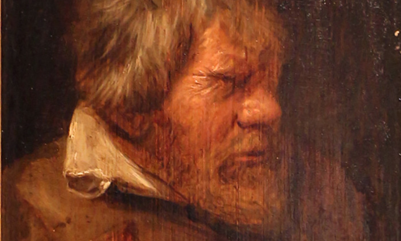 <p>Detail from <em>Old Drunk</em> (<em>Velho bêbado)</em> by Adriaen Brouwer <em>c</em>1625. <em>Courtesy National Museum of Ancient Art, Lisbon/Wikimedia</em></p>