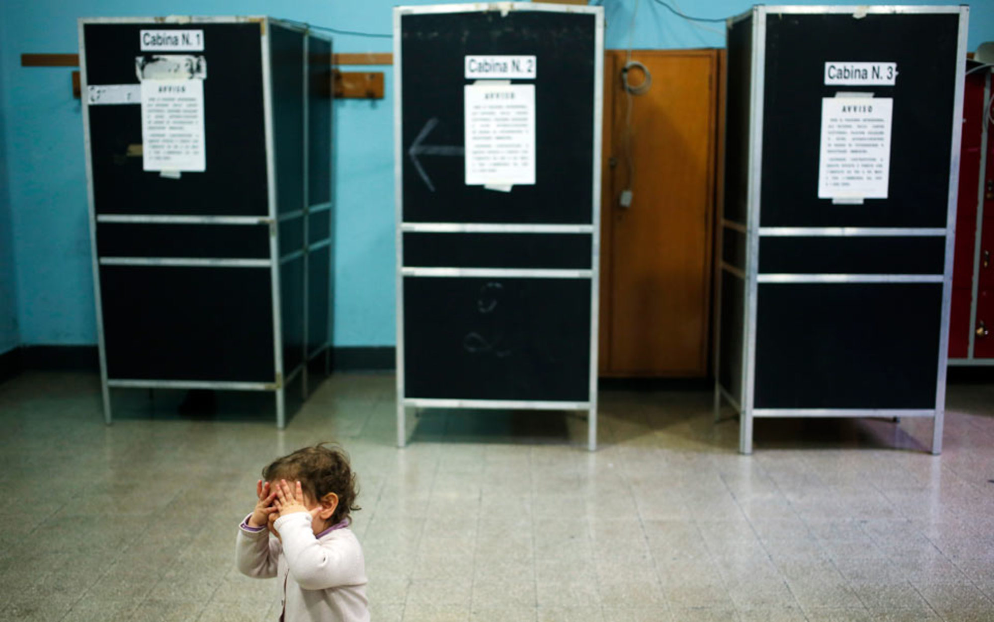 Header child elections italy