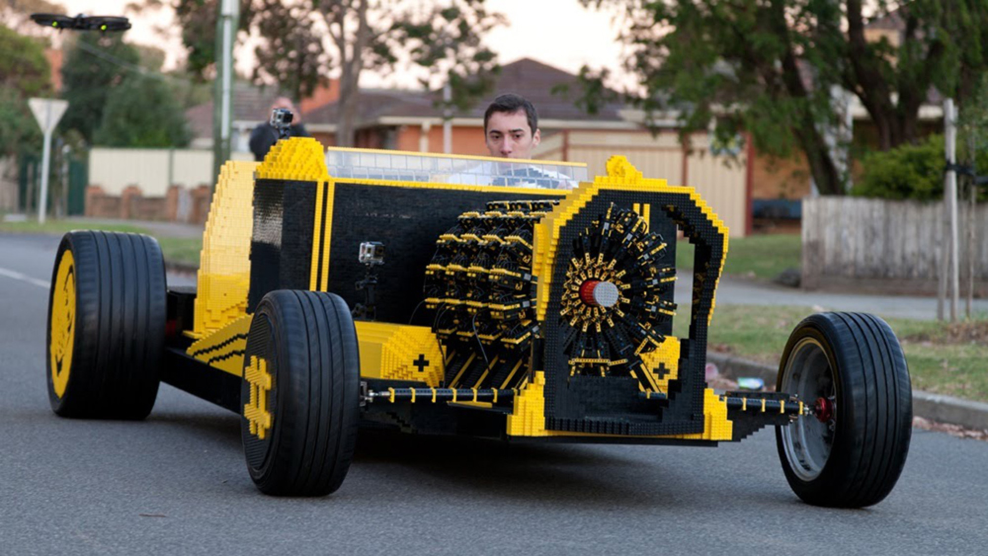 Why there's more than just novelty to one young inventor's air-powered Lego car