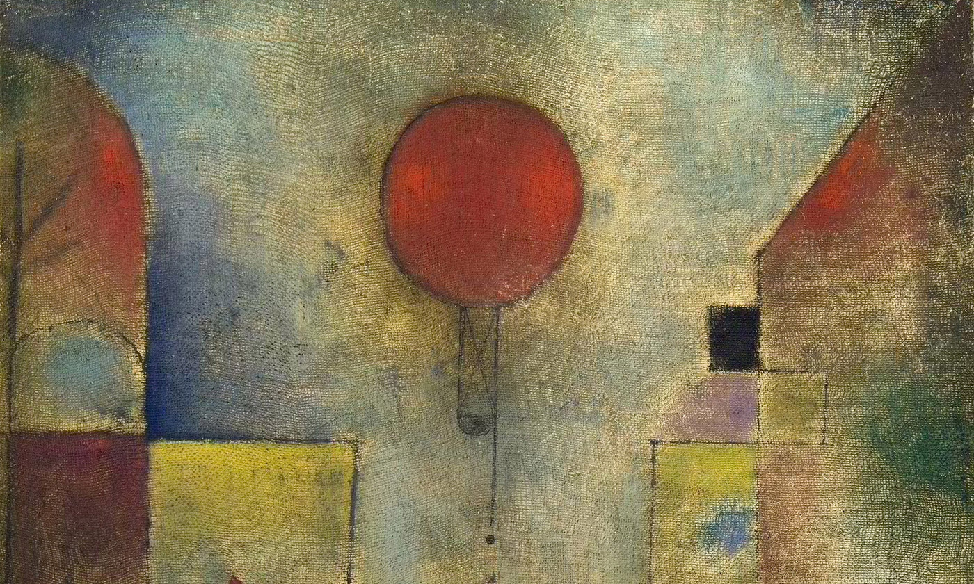 Detail from <em>The Red Balloon</em> by Paul Klee, 1922. <em>Courtesy Solomon R Guggenheim Museum, New York, Wikimedia</em>
