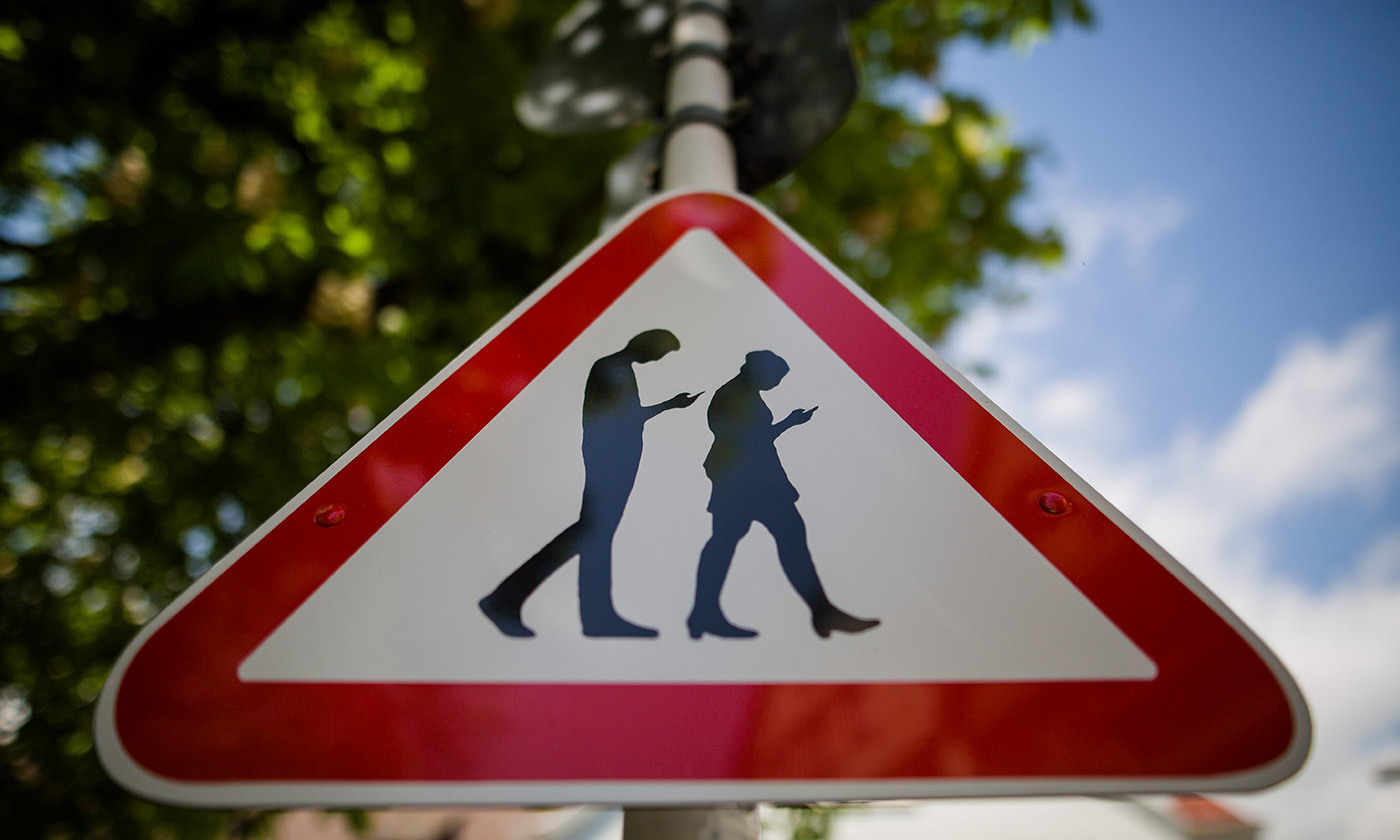 <p>Street sign in Reutlingen, southern Germany. <em>Photo by</em> <em>Christoph Schmidt/dpa/AFP/Getty</em></p>