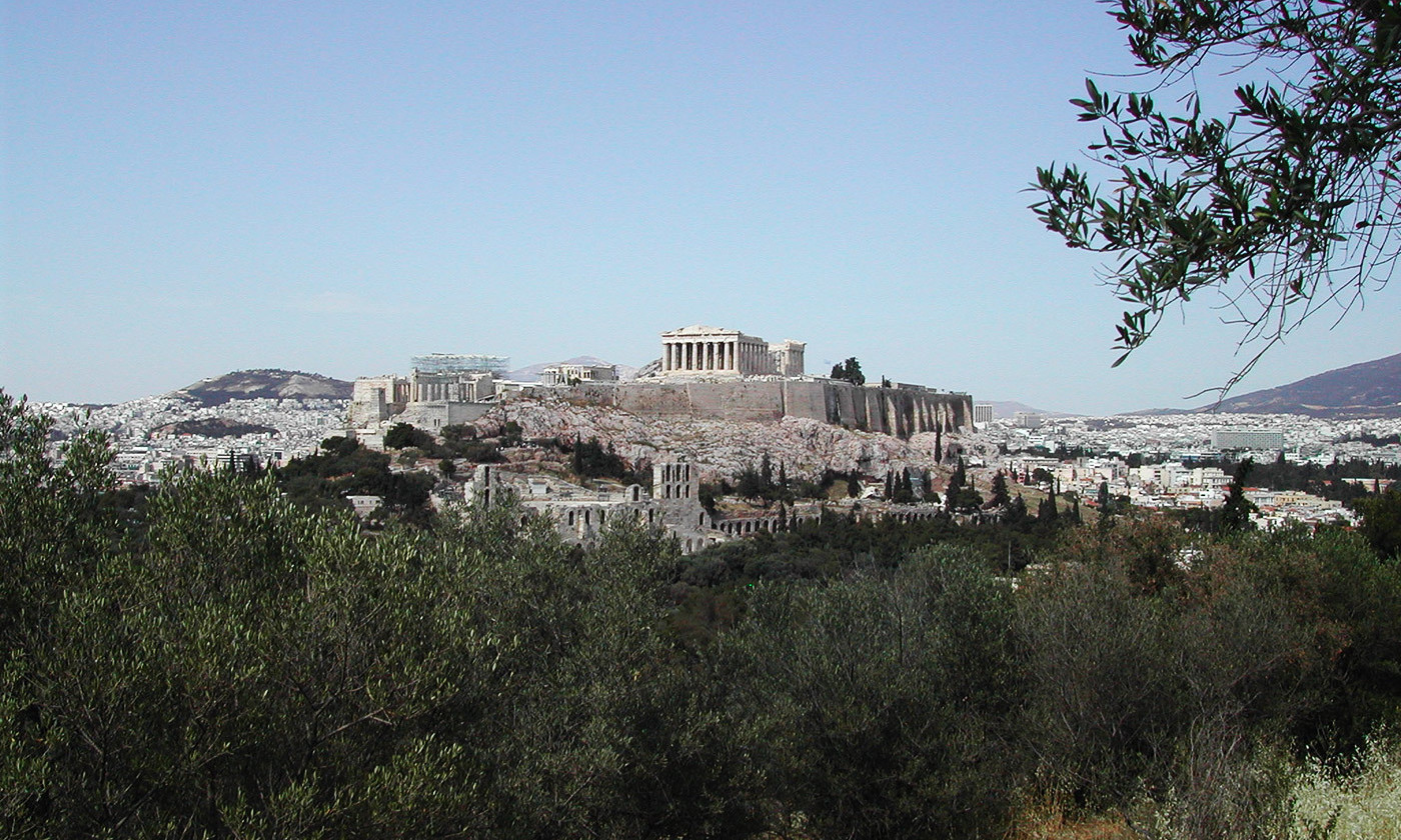 <p>Elements of the Acropolis are thought to have been provided for through the public service of liturgy. <em>Photo by Francesco Bandarin/UNESCO</em></p>