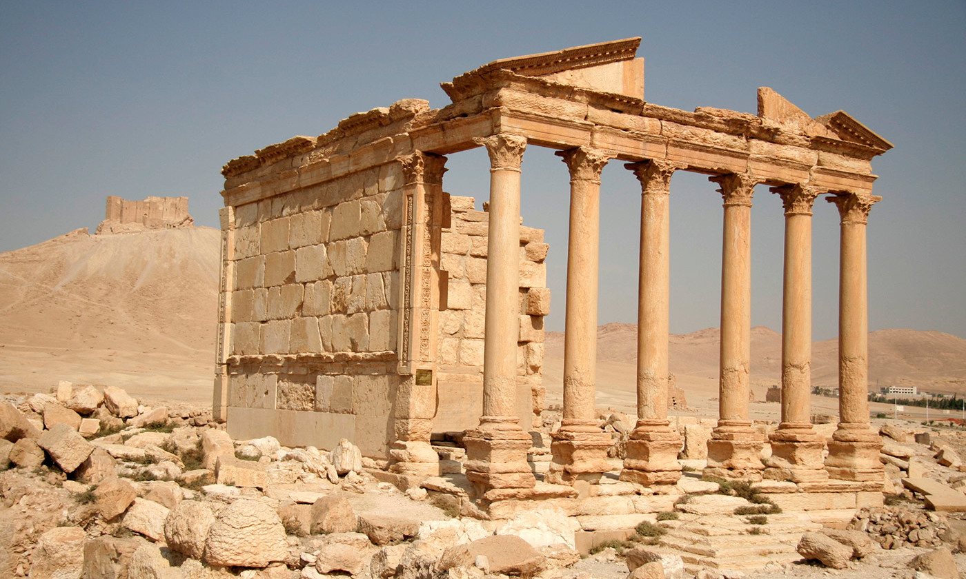 <p>Funeral temple No 86 in Palmyra. <em>Courtesy Wikipedia</em></p>