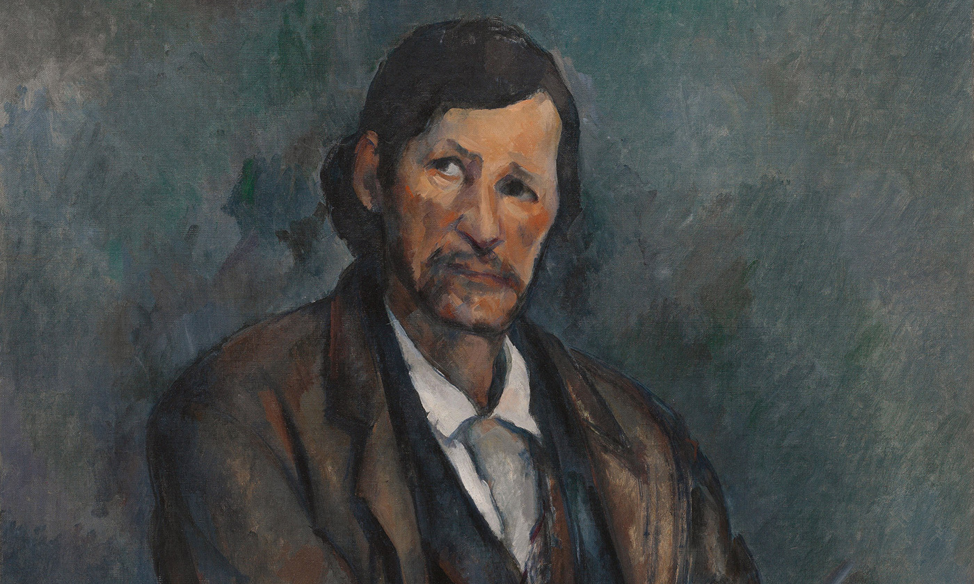 <p>Detail from <em>Man with Crossed Arms</em> (1899), by Paul Cézanne. <em>Courtesy the Guggenheim Museum/Wikipedia</em></p>