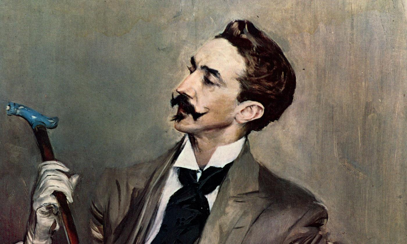 <em>Portrait of Robert de Montesquiou</em> (1897) by Giovanni Boldini. <em>Courtesy Wikipedia</em>