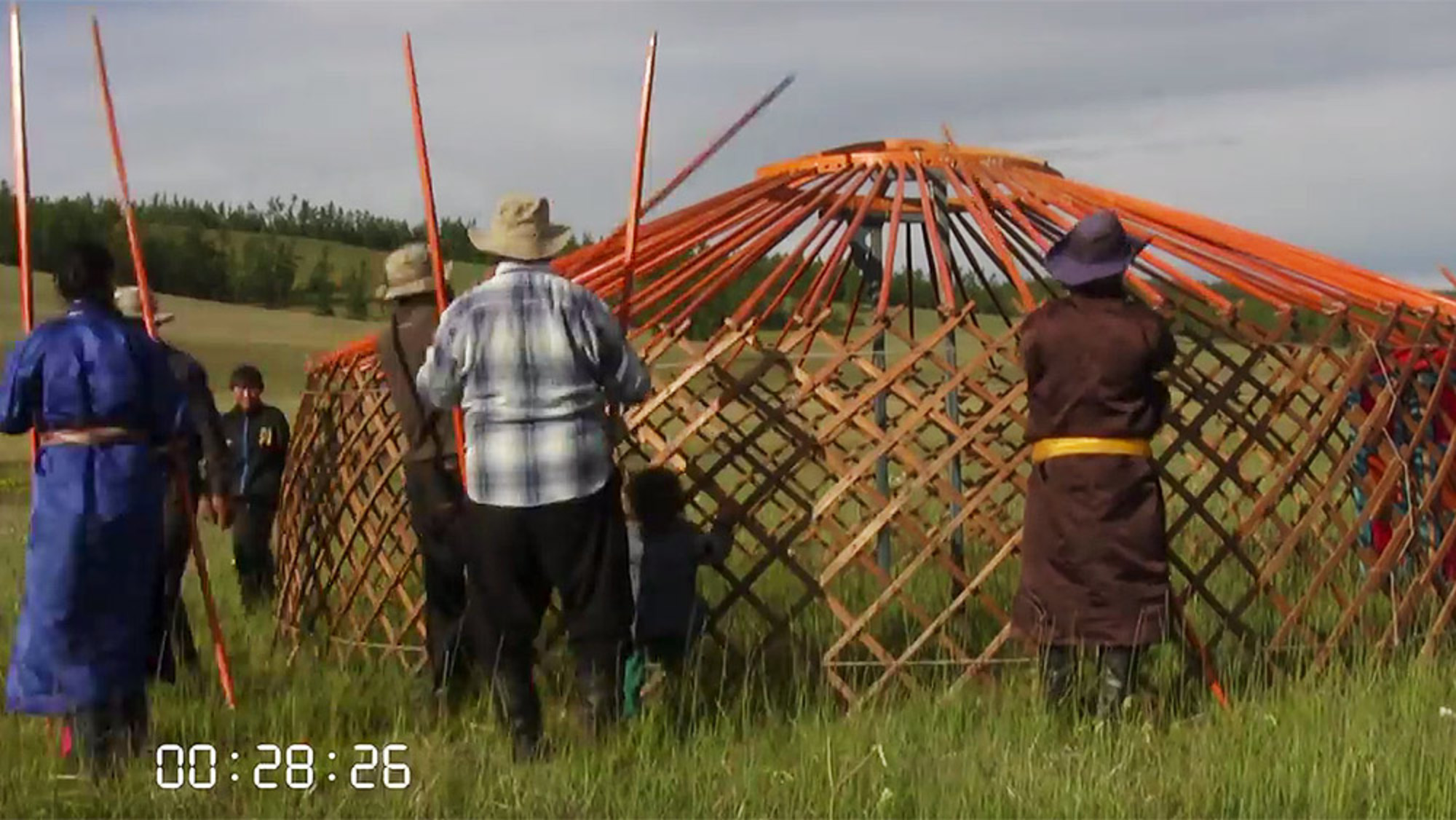 Mongolian nomads building a traditional yurt is a master class in cooperation | Aeon Videos