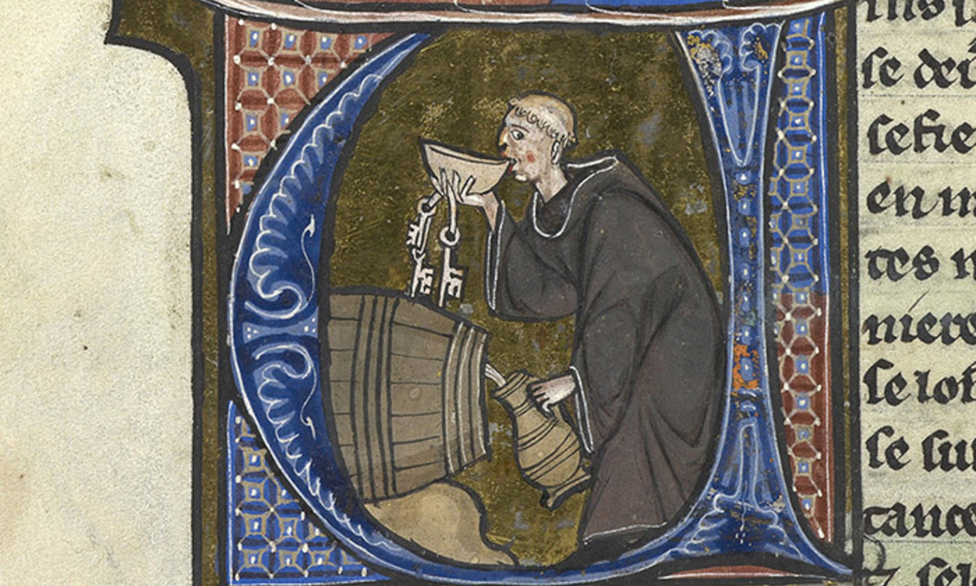 <p>Easily distracted; from the Sloane Manuscript 2435, f. 44v. <em>Courtesy the British Library</em></p>