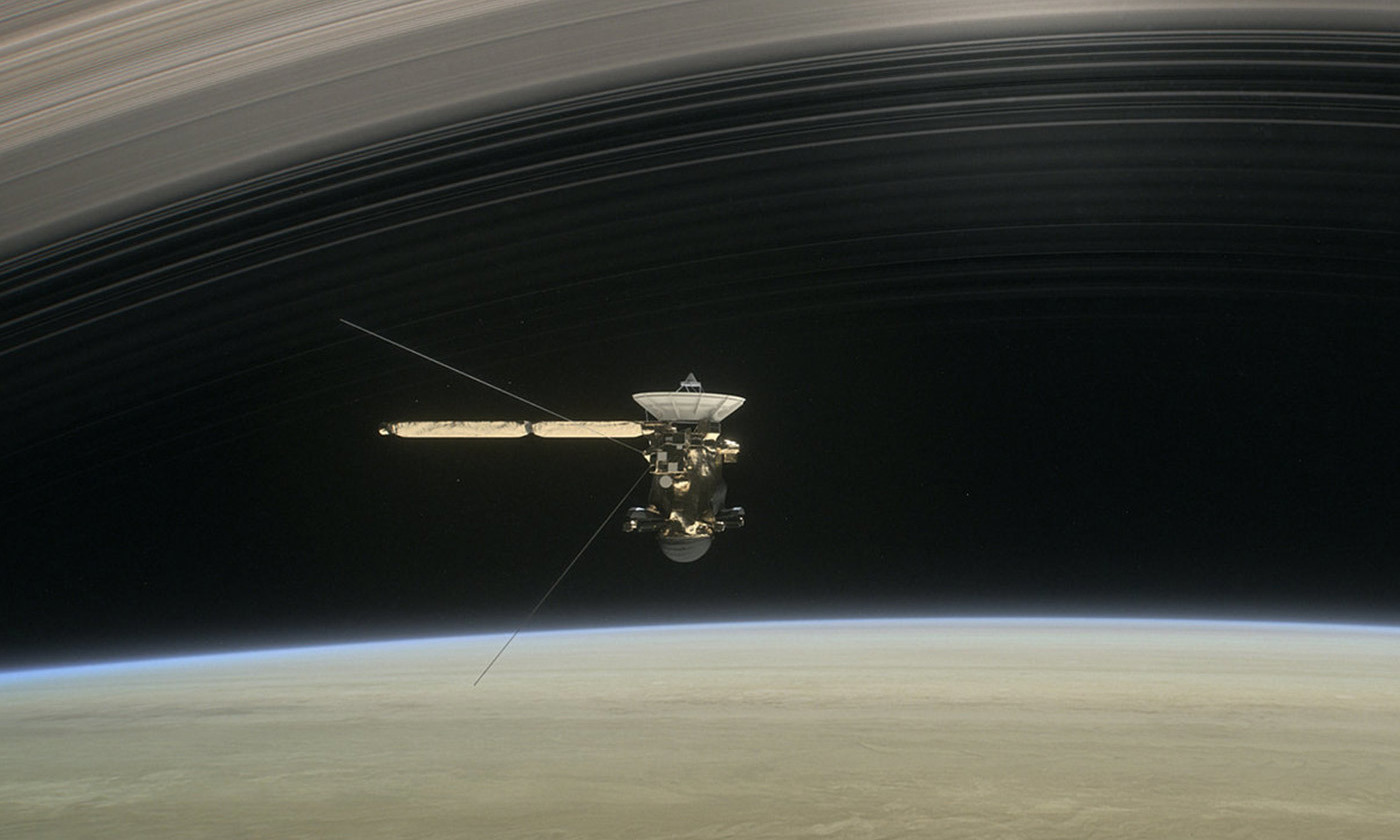 <p>The Cassini mission was a direct consequence of Einstein's thought experiments. <em>Photo JPL/NASA</em></p>