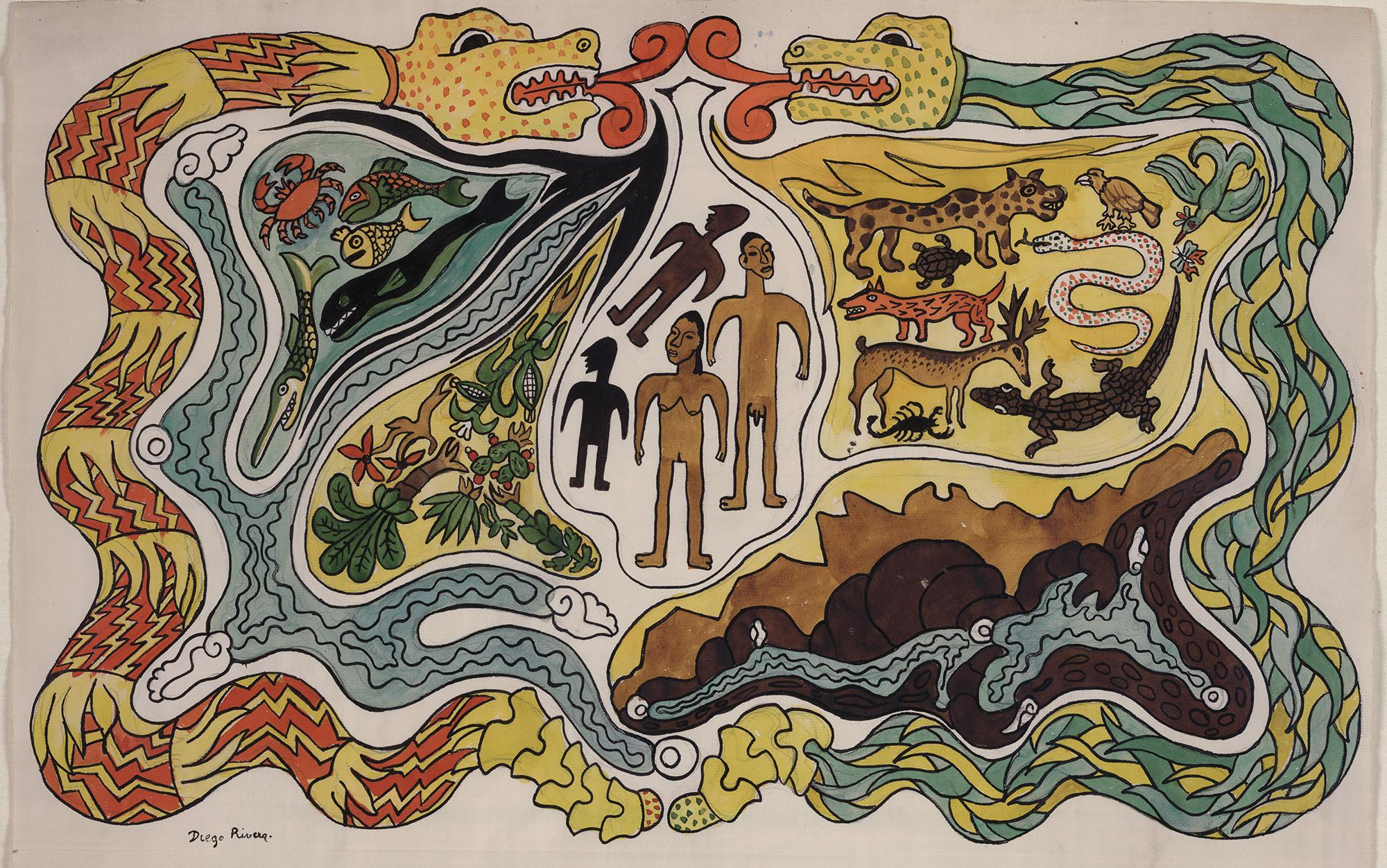 Creatures of the Popol Vuh   Aeon