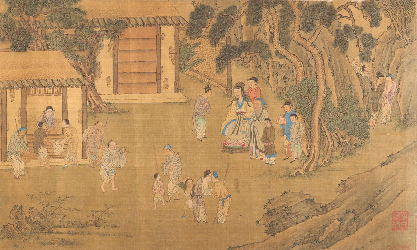 <p><em>Family Training,</em> unknown artist, Ming (1368-1644) or Qing (1644-1911) dynasty. <em>Courtesy the Met Museum, New York</em></p>