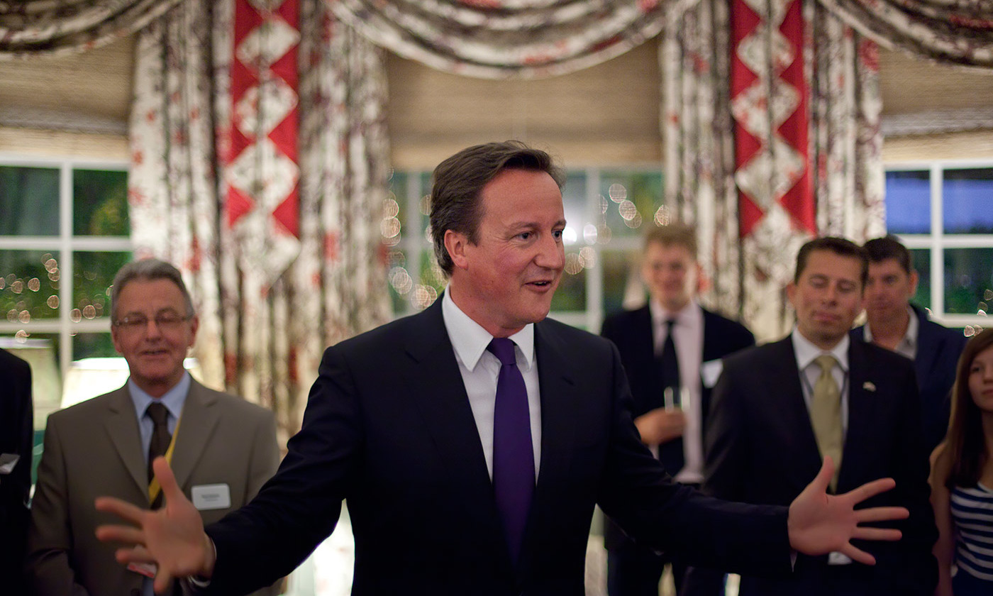 This much debt? Former British Prime Minister David Cameron. <em>Wikipedia</em>