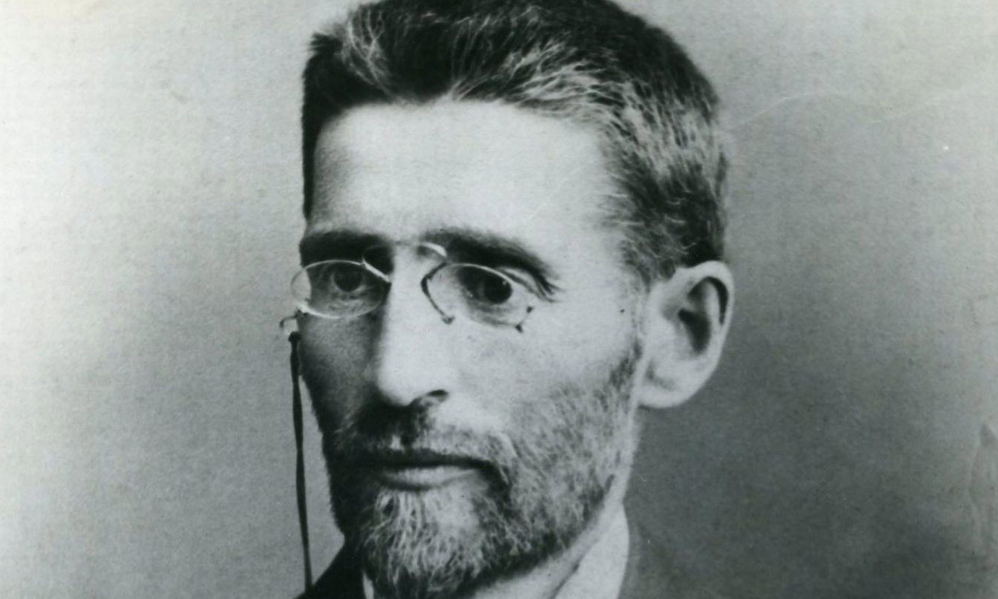 Eliezer Ben-Yehuda in 1905. <em>Photo courtesy Wikipedia</em>