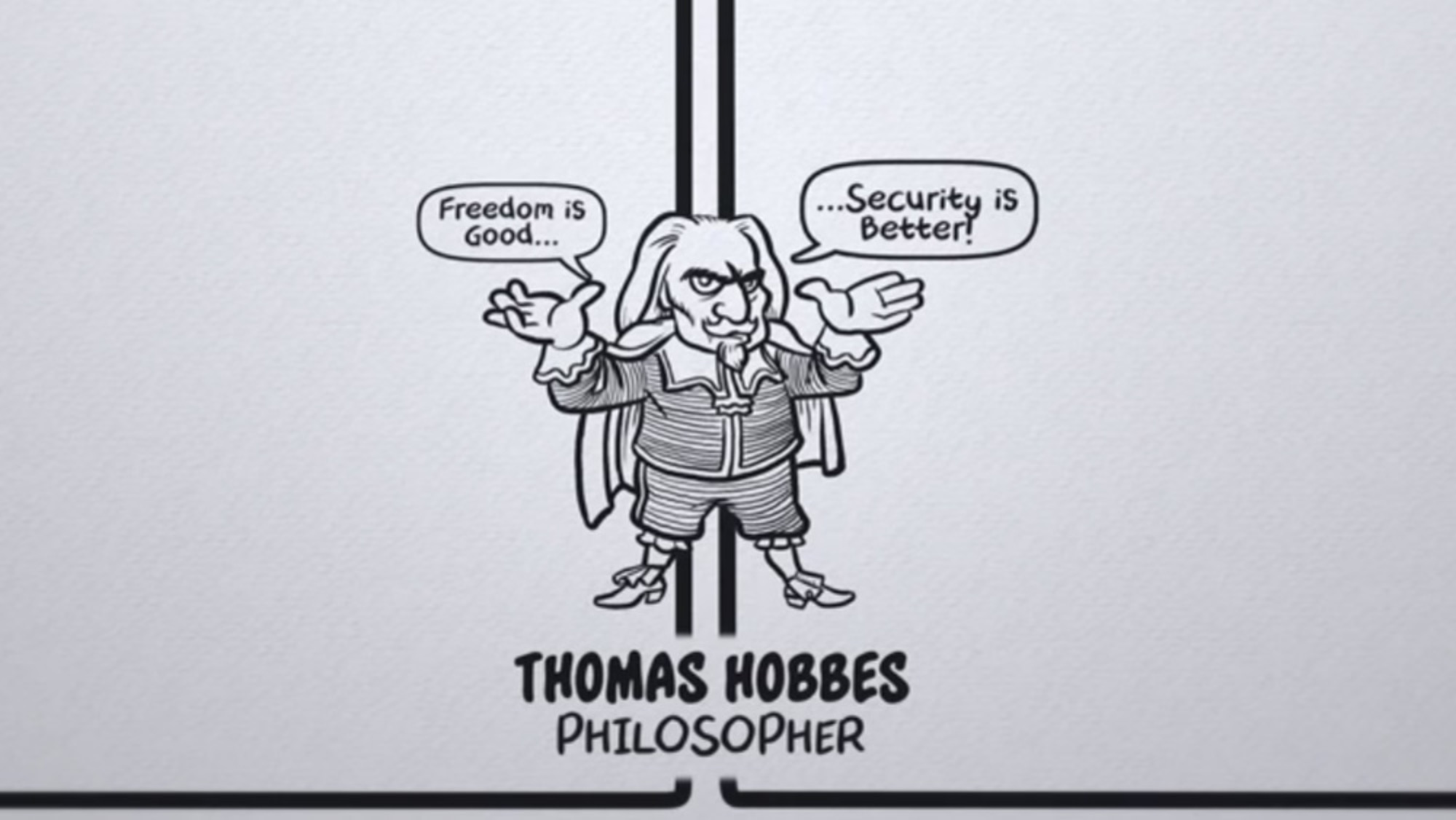 freedom or security This animation explores thomas hobbes' belief that security is better than  freedom.