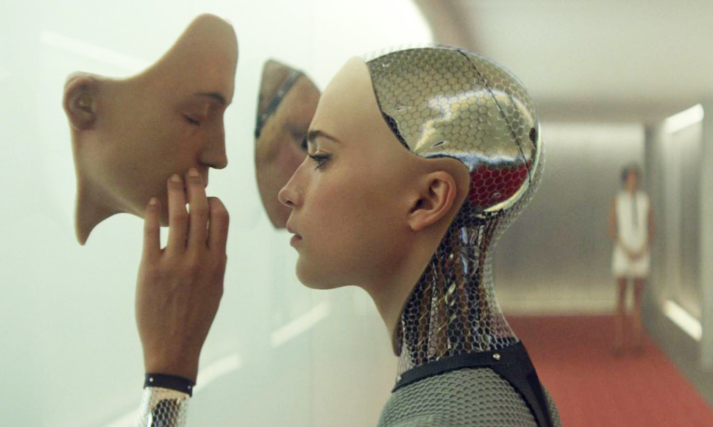 From <em>Ex Machina</em> (2015). <em>Photo courtesy United Pictures International</em>