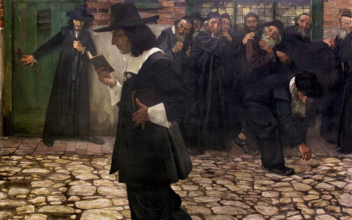 Card essay hirszenberg  spinoza and the rabbis