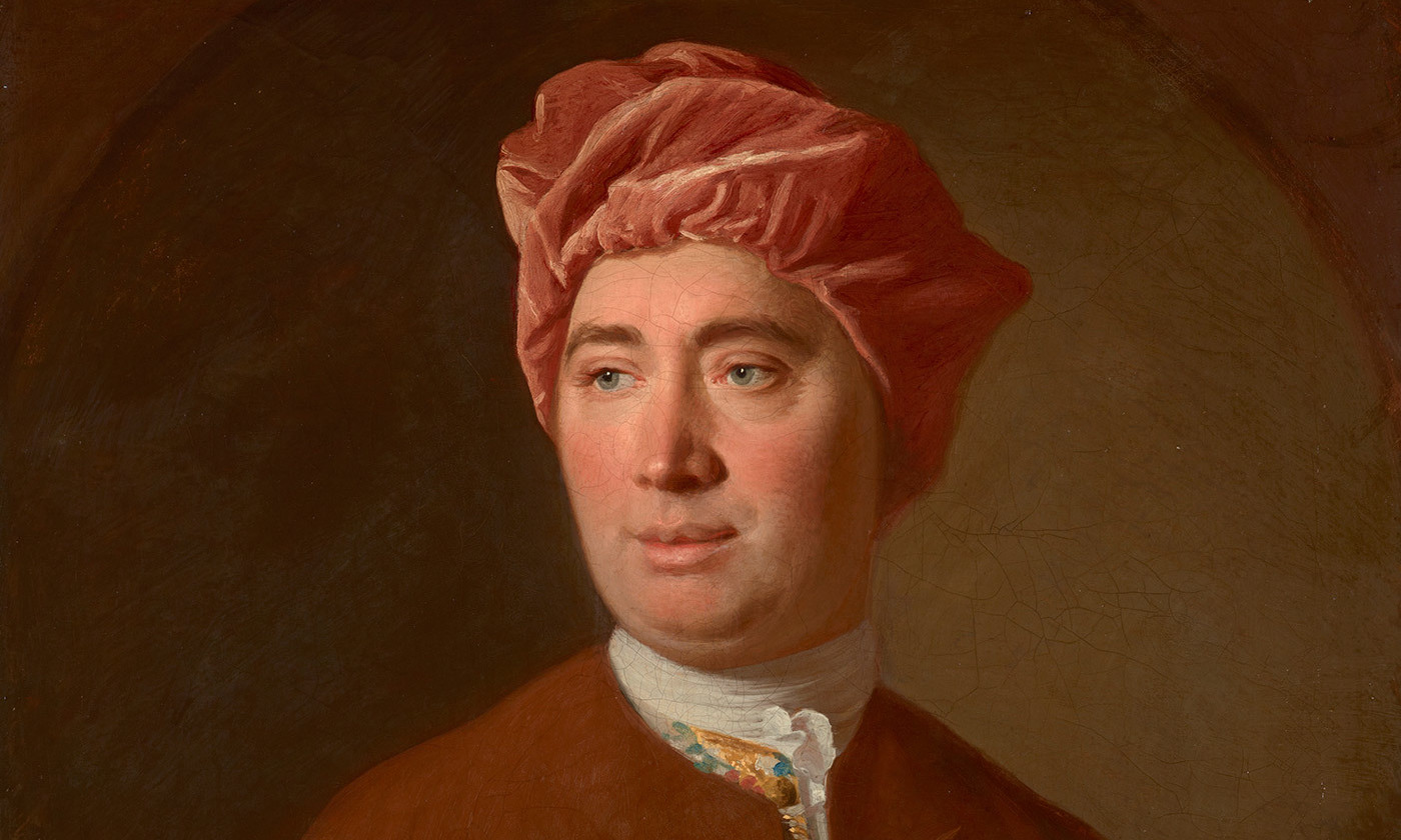 Portrait of David Hume by Allan Ramsay, 1754. <em>Photo courtesy National Galleries of Scotland/Getty</em>