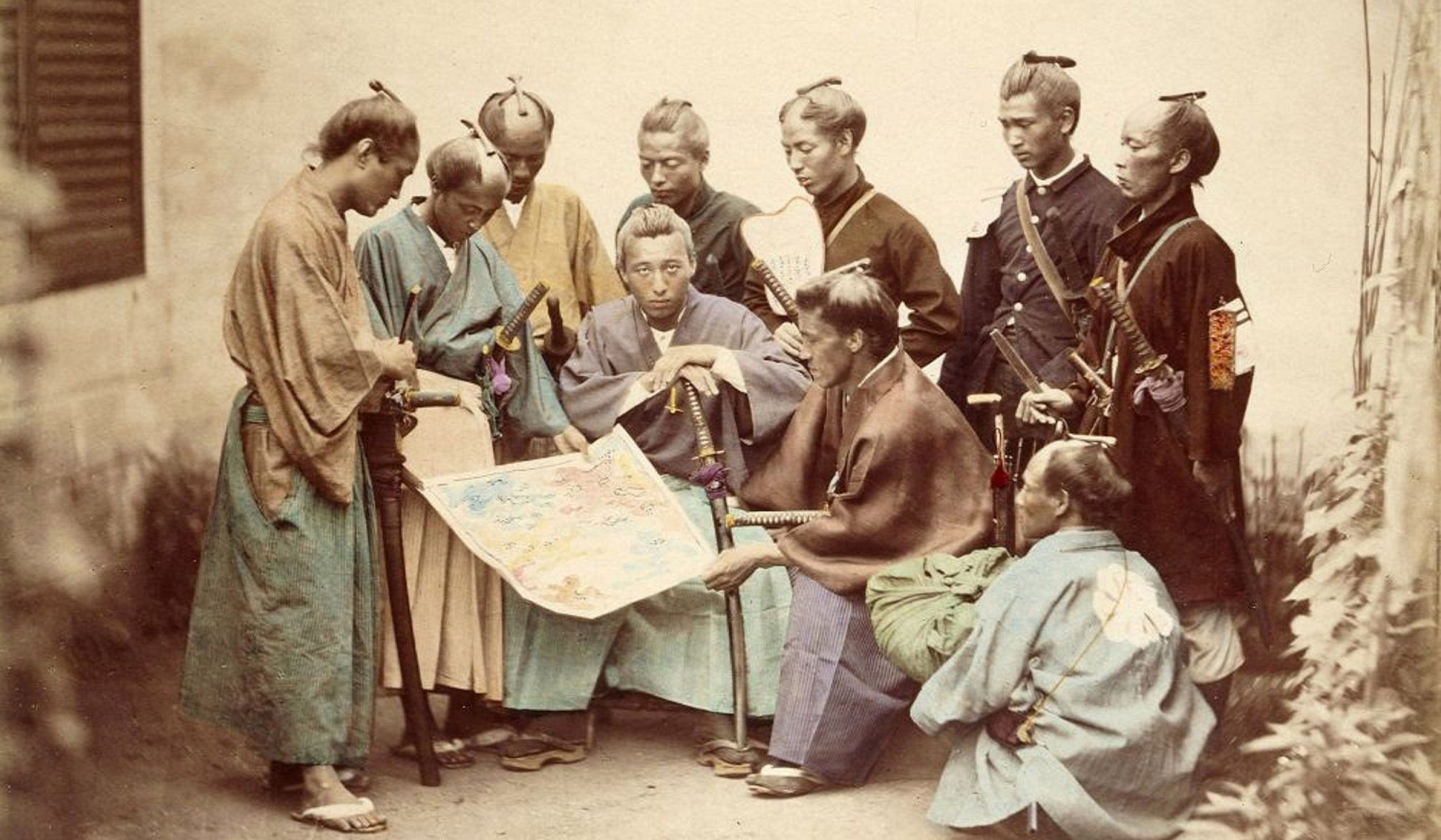 Samurai rules for peace and war