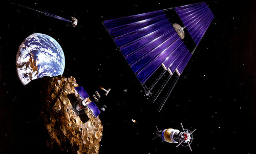 Want faster data and a cleaner planet? Start mining asteroids   Aeon