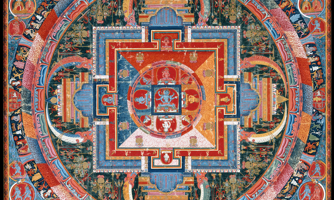 <p>Detail from the Mandala of Jnanadakini, 14th century, Tibet. <em>Courtesy the Metropolitan Museum of Art, New York</em></p>