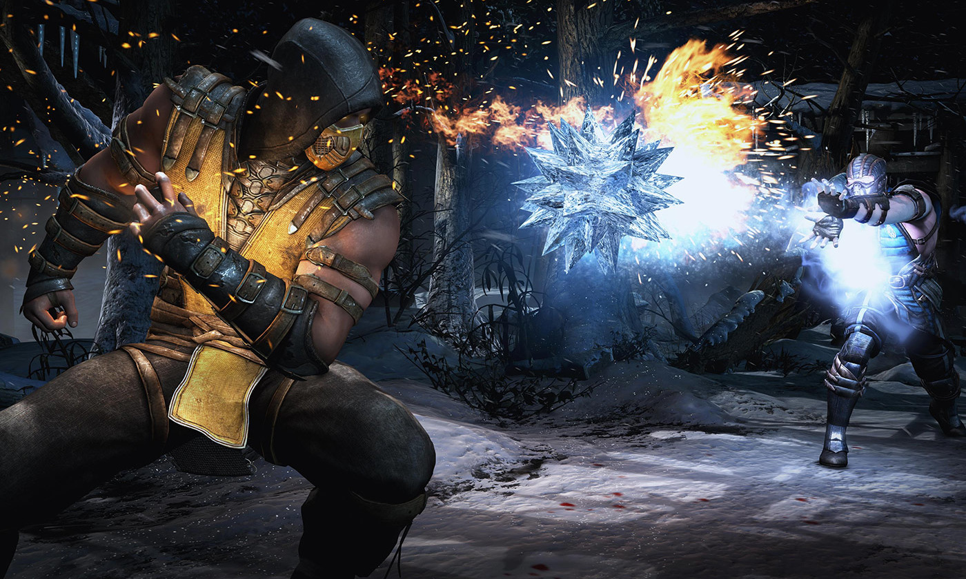 Mortal Kombat X gameplay. <em>NetherRealm/Warner Bros. Interactive Entertainment/Wikipedia</em>