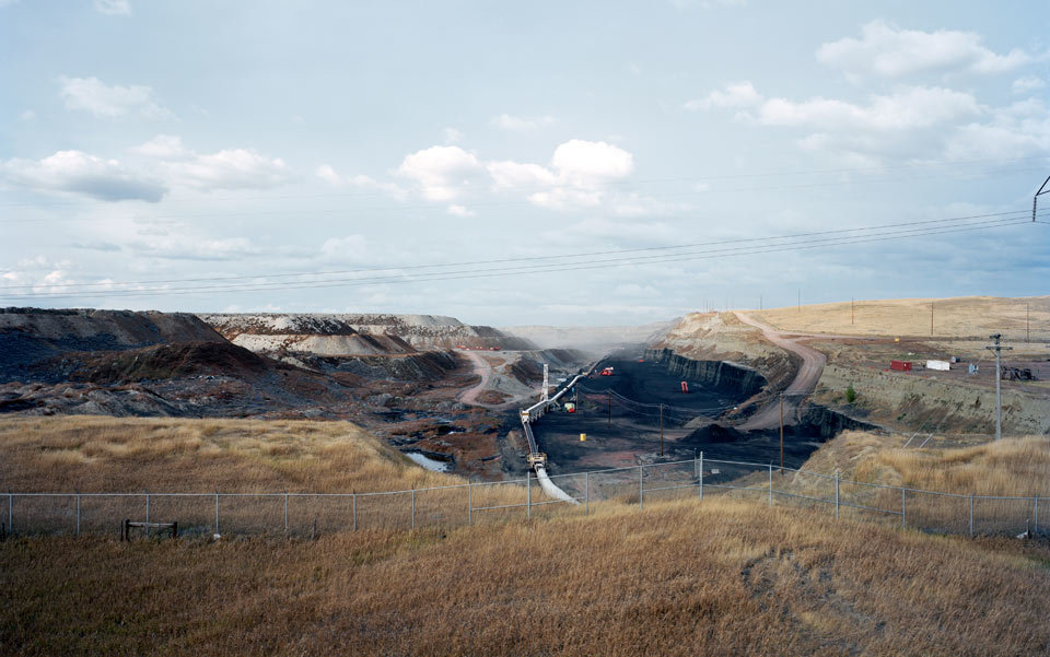 A coal mine in Gillette, Wyoming. Photo by Michael Hal/Getty